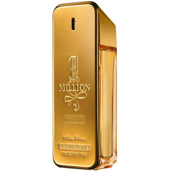Paco Rabanne 1 Million Absolutely Gold 100ml for men perfume (Unboxed)